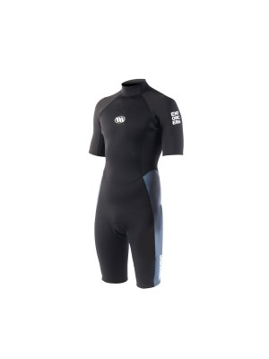 Combinaison de surf WEST Enforcer-S Shorty 2/2mm back zip - Graphite