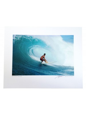 Poster Photo Surf The JEFF DIVINE Collection No 4 'Mark Occhilupo Inside Sunset 1987'