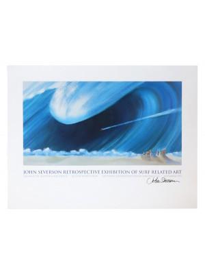 Affiche événement JOHN SEVERSON 'Retrospective Exhibition II'