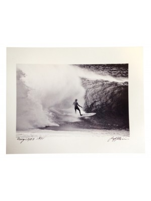 Photographie Surf Vintage JEFF DIVINE 'Gerry Lopez At Pipeline 1971' no 1