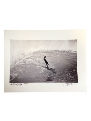 Photographie Surf Vintage JEFF DIVINE 'Gerry Lopez At Pipeline 1971' no 3