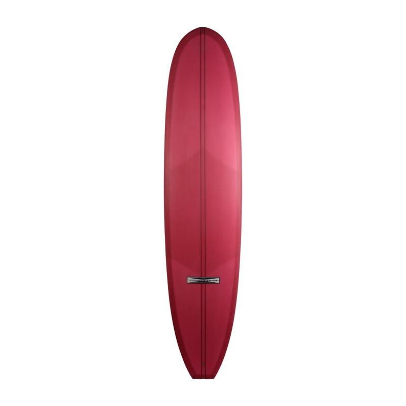Planche de surf GORDON & SMITH Isaac Wood Log 9'0 (PU) - Red