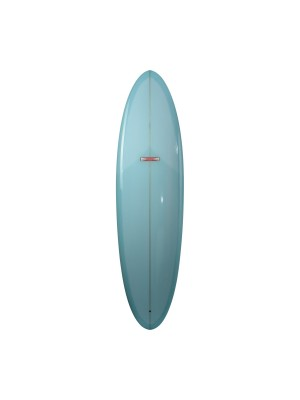 Planche de surf GORDON & SMITH Classic Egg 7'2 (PU) - Light Blue