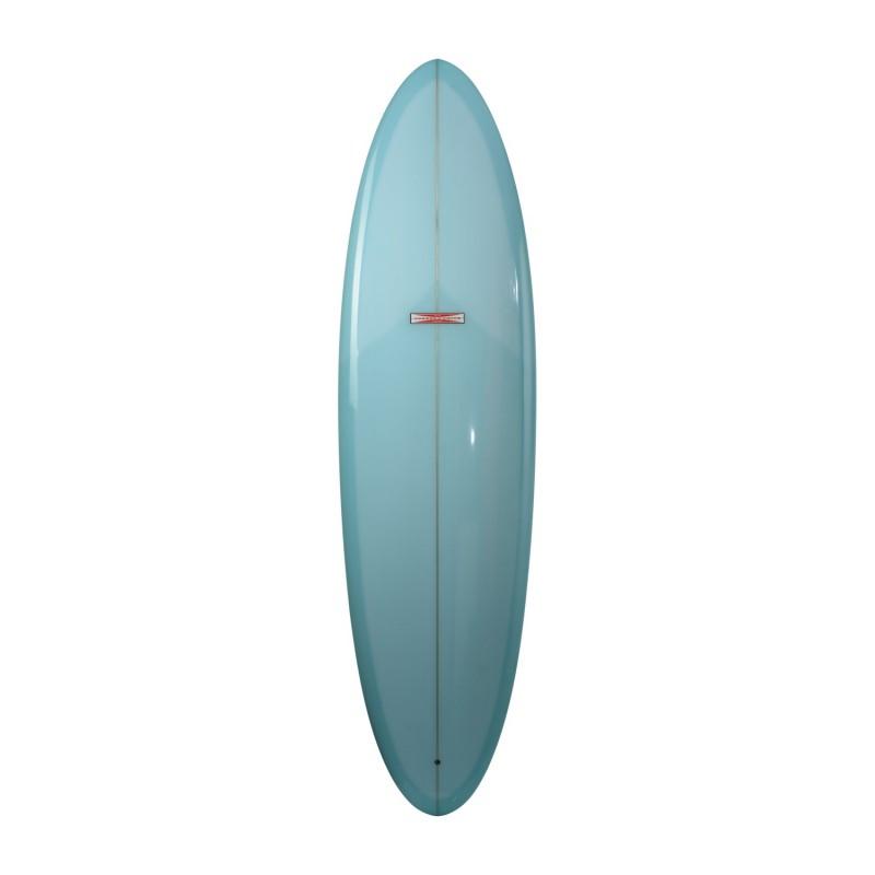 Planche de surf GORDON & SMITH Classic Egg 7'2 (PU) - Light Blue