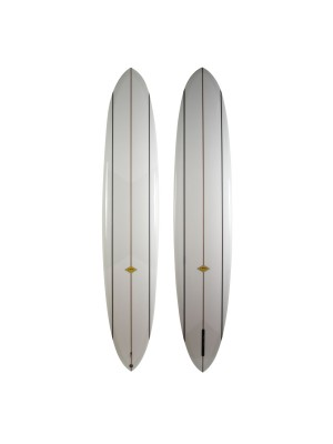 Planche de surf single ALMOND Cash-Yew II 10' (PU) - Clear