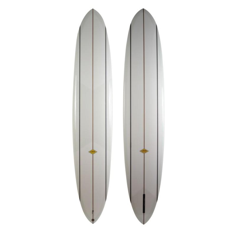 Planche de surf single ALMOND Cash-Yew II 10' (PU) - Clear