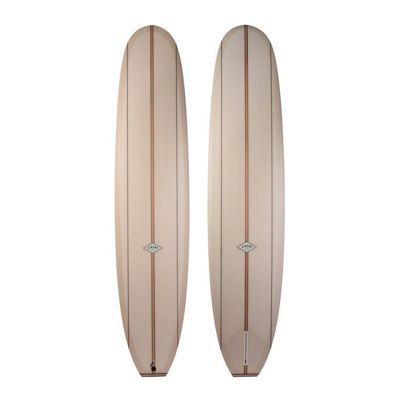 Longboard ALMOND Walks on Water 9'0 (PU) - Tan Tint