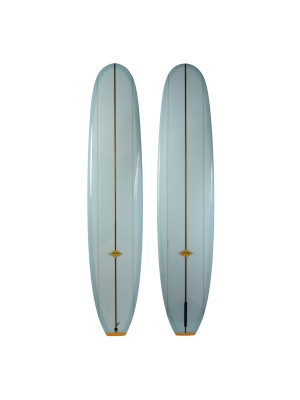 Longboard ALMOND Lumberjack 9'6 (PU) - Light Blue
