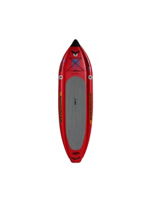 Stand Up Paddle gonflable - BOARDWORKS Badfish MCIT 9' - Rouge