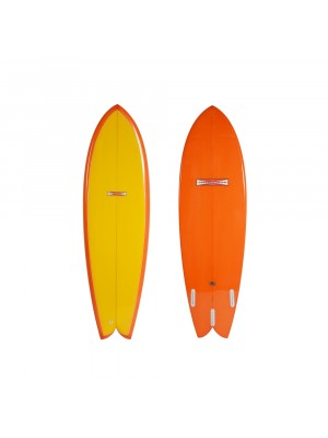 Planche de surf GORDON & SMITH Summer Fish 6'4 (PU)