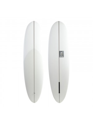 Planche de surf single CHRISTENSON Sub Mariner 6'6 clear (PU)