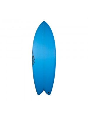 Aloha Surfboards - Keel Twin PU Blue - 5'8 - FCS 2