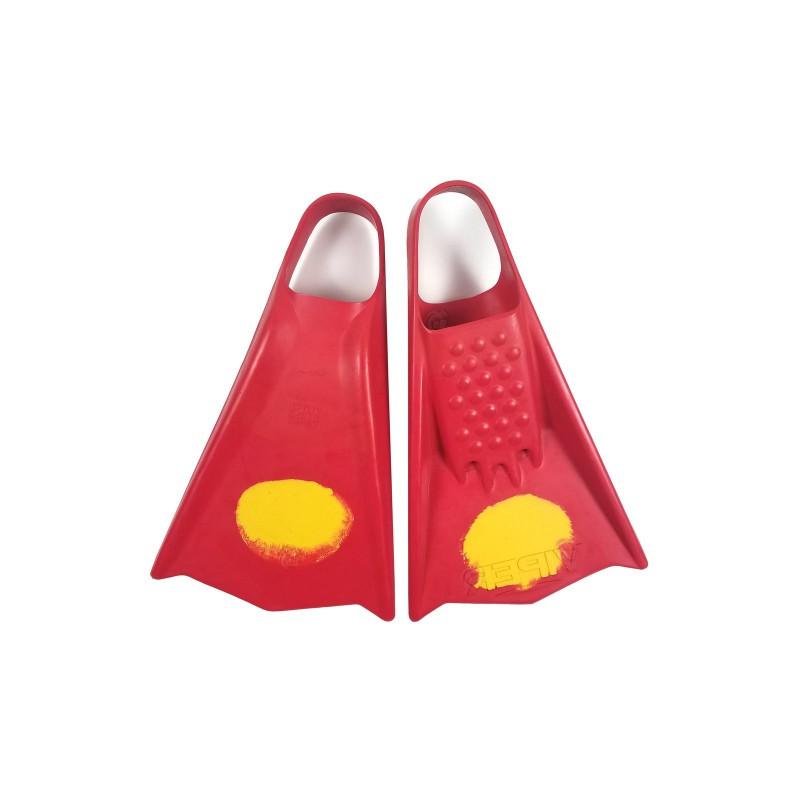 Palmes de bodyboard MS VIPER Red / Yellow