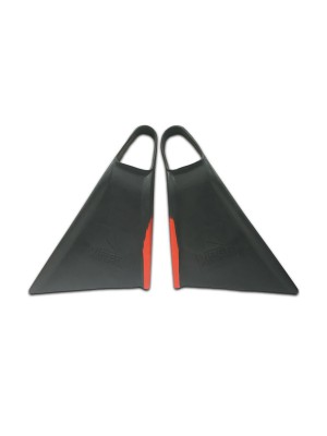 Palmes de bodyboard MS VIPER Delta 2.0 - Grey / Red