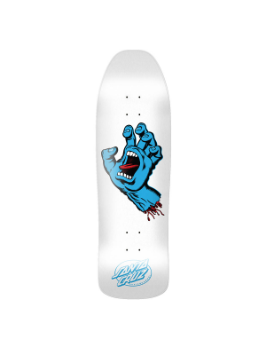 Santa Cruz - Screaming Hand Deck 9.35 - White