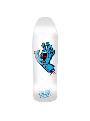 Santa Cruz - Screaming Hand Deck 9.35 - White