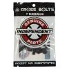 Independent - Pack de 8 vis - Allen 1 inch - Black
