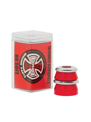 Independent - Bushings - Conical Soft 88A - Red