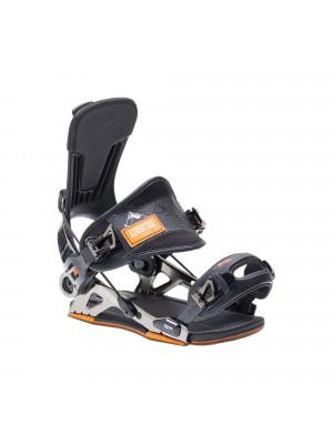 Fixations Snowboard SP FASTEC Mountain 2020 (entrée arrière) - Black