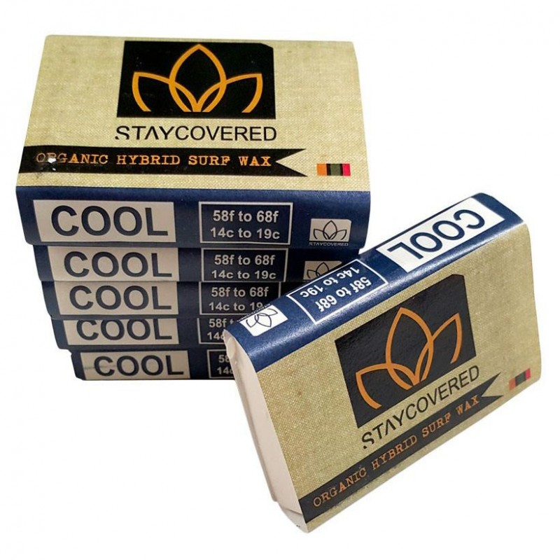 Surf Wax STAY COVERED Organic Hybrid - COOL