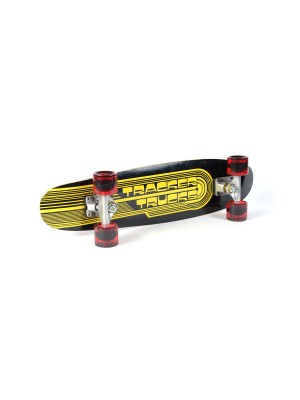 Skateboard TRACKER TRUCKS Classic Wing Cruizer - Black 29' (73 cm) - Red Wheels
