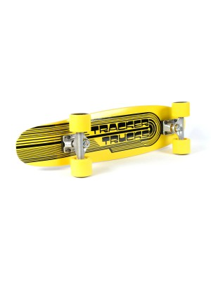 Skateboard TRACKER TRUCKS Classic Wing Cruizer - Yellow 29' (73 cm) - Yellow Wheels