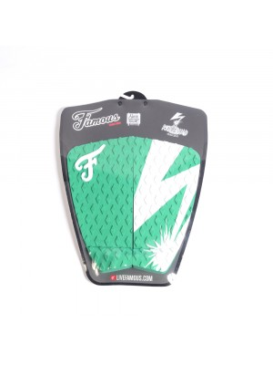 Traction Pad Surf FAMOUS Riot Squad (Kalani David pro model) - Green / White