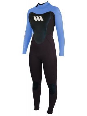 Combinaison de surf femme WEST Nitro Lady 3/2mm back zip - Aqua
