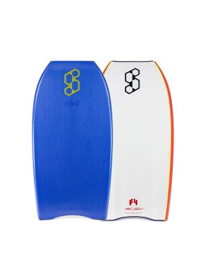 Planche de Bodyboard SCIENCE Mike Stewart Style Quad Vent (PP) - Royal Blue / White