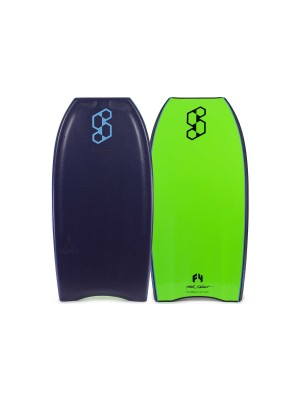 SCIENCE Mike Stewart Launch LTD QUAD VENT (PP) - Midnight Blue  / Fluo Green