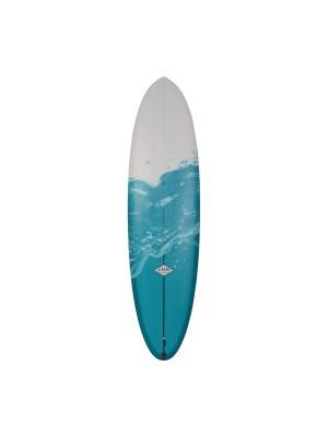 ALMOND Pleasant Pheasant 6'10 (PU) - White / Swirl