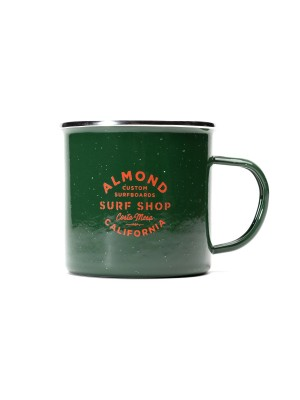 Almond Surfboards - Army Mug - Green