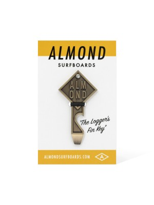 Almond - Fin Key Bottle Opener