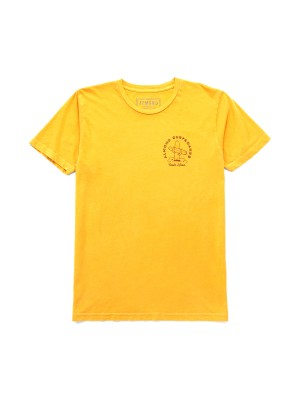 Almond Surfboards - Cactus Tee - Gold