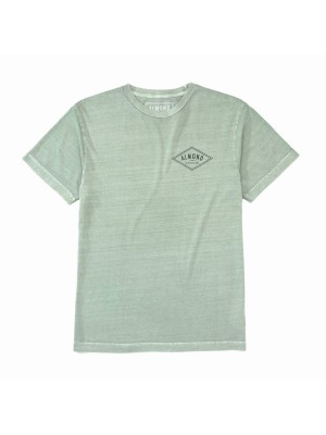 Almond Surfboards - Decades Tee - Sage