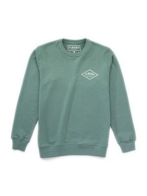 Almond Surfboards - Decades Pull Over - Green