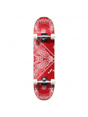Skateboard Street YOCAHER Bandana Red - Planche Complete