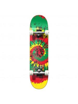Skateboard Street YOCAHER Tiedye Rasta - Planche Complete
