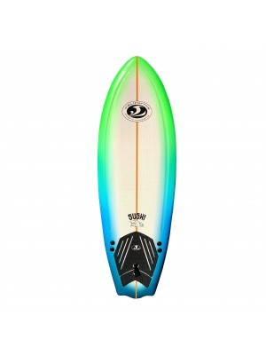 Planche de Surf - Sushi Softboard CBC 5'8 - Neon