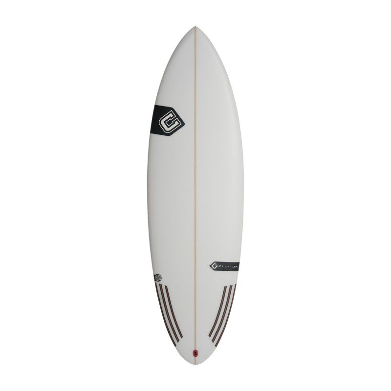 Planche de surf CLAYTON Surfboards Rocket (PU) - 5'10