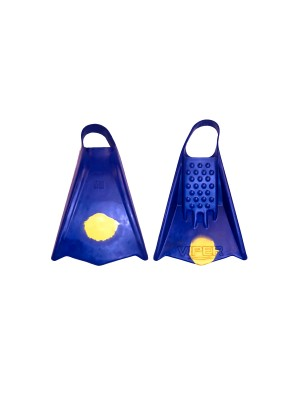 Palmes de bodyboard MS VIPER Navy / Yellow