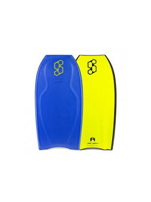 Science Bodyboard - Pro LTD (PP) - Tri Quad - Royal Blue / Yellow