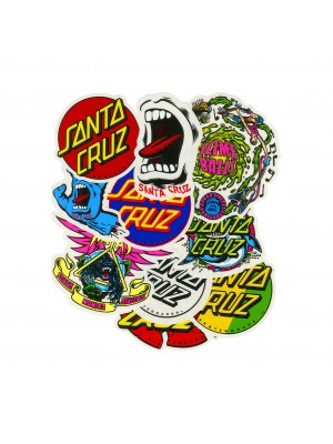Santa Cruz - Stickers Pack (10 Stickers)
