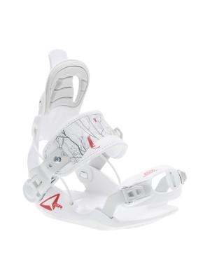 Fixations Snowboard SP FASTEC Kiddo 2021 (entrée arrière) - White