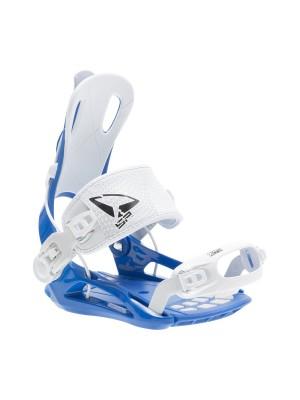 Fixations Snowboard SP FASTEC FT270 2021 (entrée arrière) - Blue