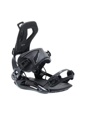 Fixations Snowboard SP FASTEC Private 2021 (entrée arrière) - Black