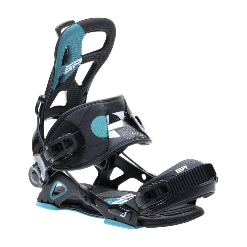 Fixations Snowboard SP FASTEC Brotherhood 2021 (Multientry) - Black