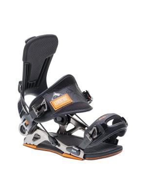 Fixations Snowboard SP FASTEC Mountain 2021 (entrée arrière) - Black