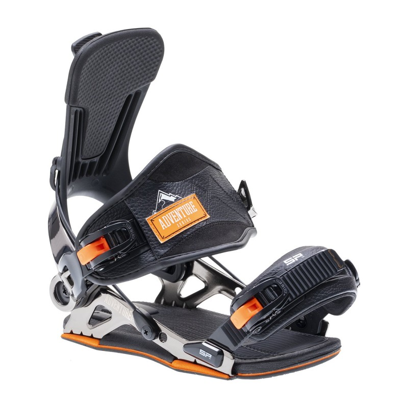 Fixations Snowboard SP FASTEC Mountain 2021 (Multi Entry) - Black
