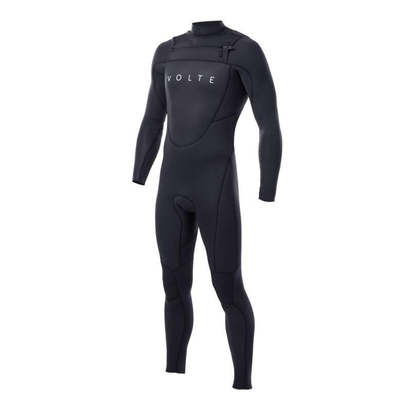 Combinaison de surf VOLTE Vital 3/2 Front Zip - Black